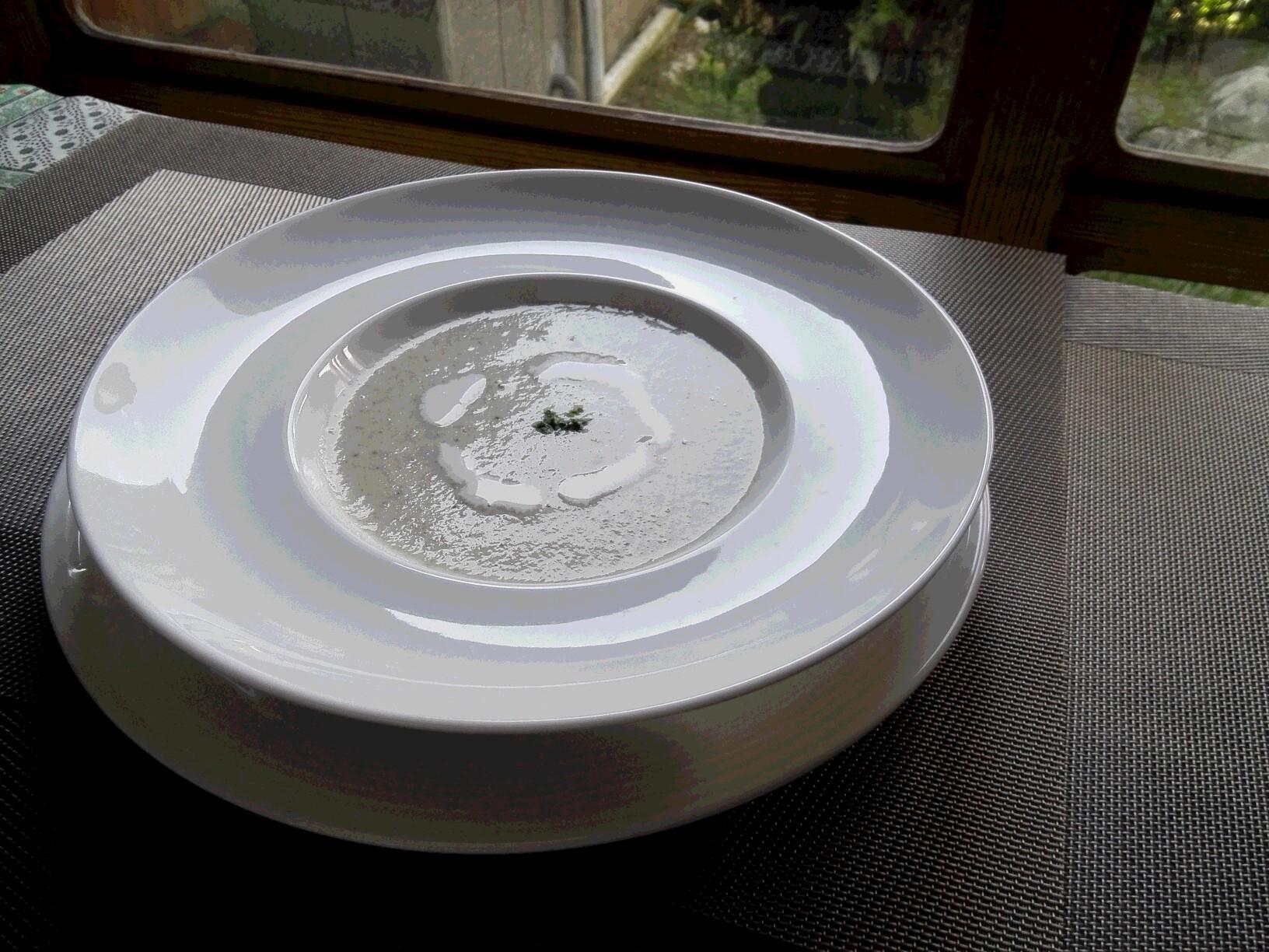 蕪のポタージュスープ